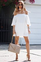 white HAUTE & REBELLIOUS dress