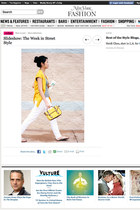yellow bag - white pants - yellow blouse