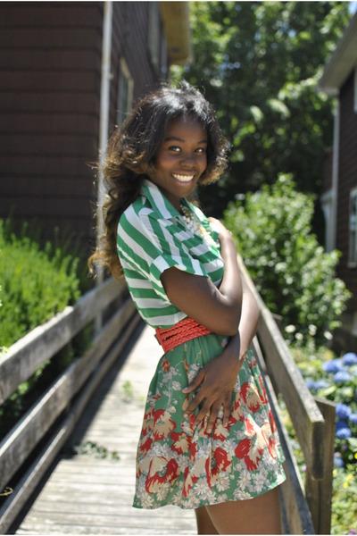 Heiress blouse - Heiress skirt