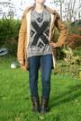 Bikerboots-de-schoenenreus-boots-bronze-brown-parka-c-a-coat