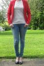 Blue-skinny-jeans-h-m-jeans-red-red-blazer-h-m-blazer