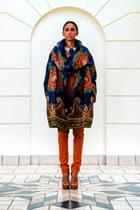 caped  coat coat