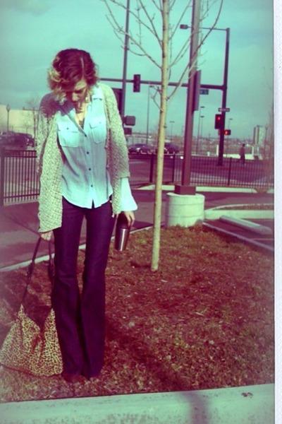 navy rachel zoe Seven jeans - brown ankle Target boots