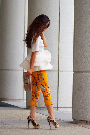 Zara pants - Charlotte Olympia heels