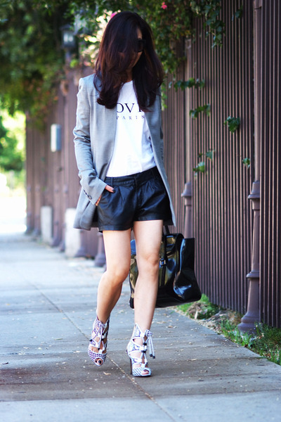 Alexander Wang blazer - 31 Phillip Lim bag - Gap sunglasses