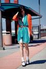 Miu-miu-shoes-neutral-h-m-dress-polka-dots-zara-scarf-from-target-socks-