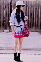 top - Zara shirt - material girl skirt - Mulberry for Target bag - Dolce Vita bo