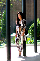 asos coat - H&M jeans - Jimmy Choo heels