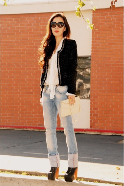 lita Jeffrey Campbell boots - Zara jeans - ladylike Plastic Island jacket - 3 Th