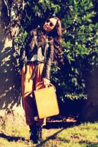 River Island jacket - asos pants - Dolce Vita boots - thrifted vintage bag - Zar
