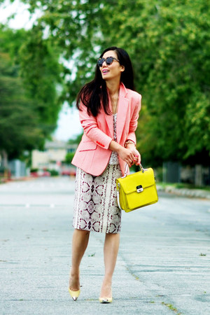 JCrew skirt - Zara shoes - Guess bag