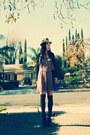 Forever21-dress-nordstrom-hat-forever21-sweater-thrifted-vintage-bag-fre