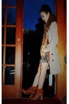 asos scarf - asos belt - vintage sweater - H&M skirt - Zamagni boots