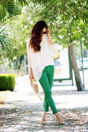 Zara jeans - Christian Louboutin heels