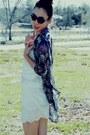 Dolce-vita-boots-fluxus-t-shirt-forever21-skirt-silk-zara-blouse
