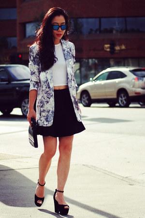 Frontrowshop blazer - Celine shoes - Alexander Wang bag