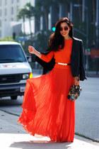 asos skirt - Alexander McQueen bag