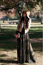 Theory-jacket-h-m-dress-catarzi-hat-bakers-accessories-ysl-accessories