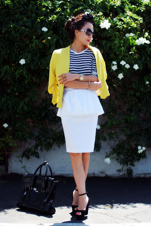 asos skirt - H&M jacket - 31 Phillip Lim bag - Celine wedges