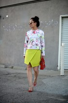 Carven shirt - 31 Phillip Lim bag - Valentino heels