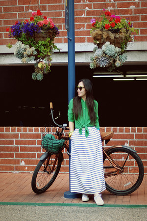 JCrew skirt - madewell blouse