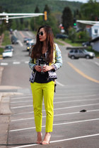 asos jacket - Zara sandals - JCrew pants