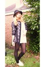 Lace-up-brogues-vintage-topshop-shoes-h-m-hat-lace-thrifted-vintage-shirt-