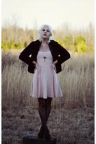 light pink Rebecca Taylor dress