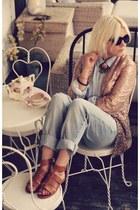 dark brown zeroUV sunglasses - tawny madewell sandals
