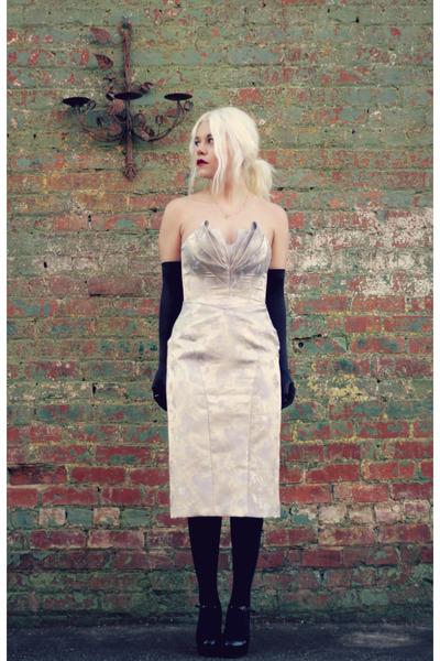 silver Truly Zac Posen dress