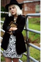 tawny Chinese Laundry boots - black ERIN Erin Fetherston dress