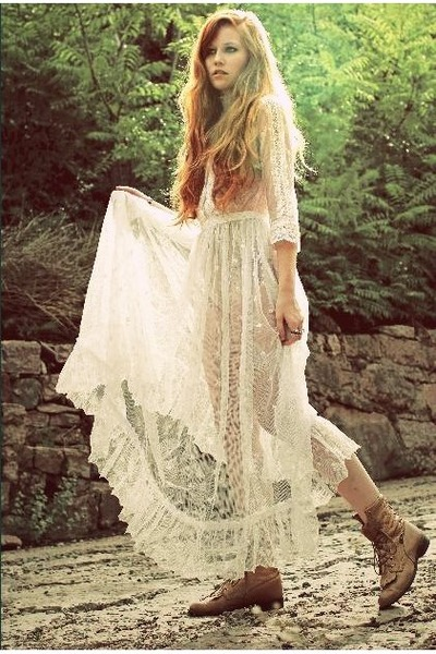 lace Meat Market Vintage dress