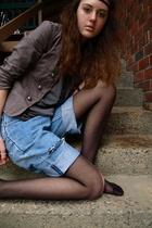 vintage levis shorts - vintage blazer