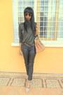 Cream-shoedazzle-shoes-black-leather-pants