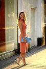 Schutz-shoes-salmon-zara-dress-sky-blue-asos-bag