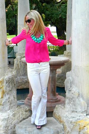 redhouseboutique necklace - Fabrik blouse