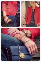Nordstrom blazer - Zara blouse