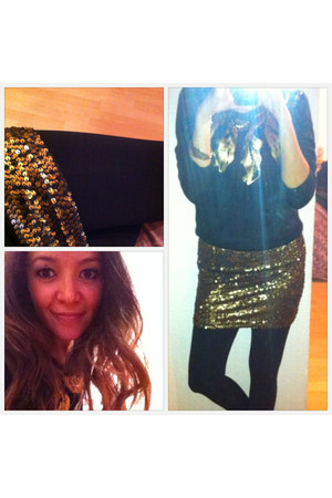 sequined LOB skirt