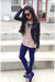 leather jacket Urban Outfitters jacket - claw banlge Haute1 bracelet