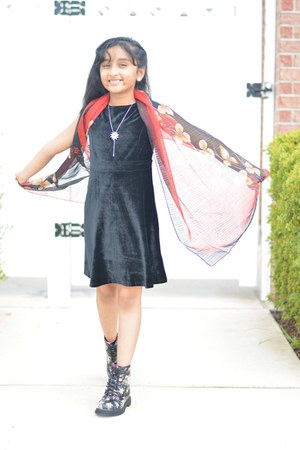 Target boots - Target dress