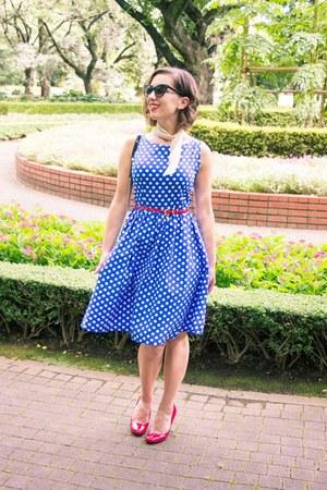 polka dot shein dress