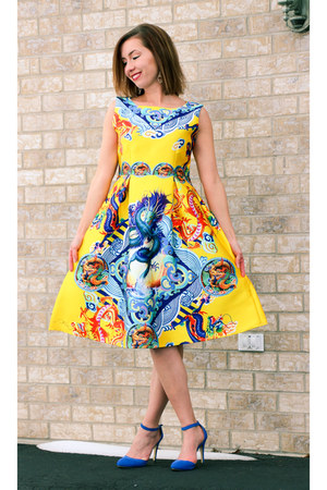 Sheinside dress - Bonnibel heels