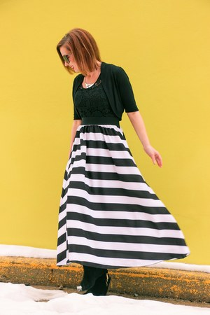 stripes DressLink dress