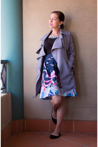 spring Sophies Collection coat - midi modcloth skirt