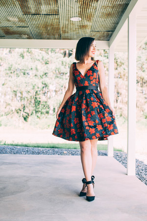 fit and flare Ever-Pretty dress