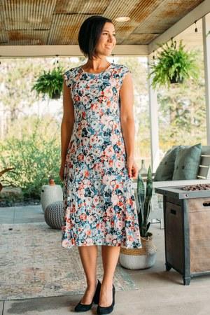 floral dress Ralph Lauren dress