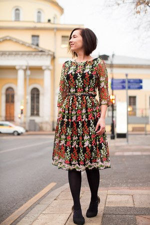 floral print modcloth dress