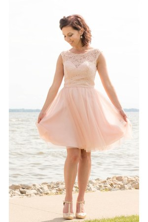 tulle Elaines dress