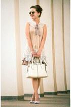 ryu dress - quay sunglasses - Machi Footwear heels