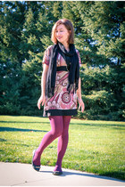 Charlotte Russe dress - Express scarf